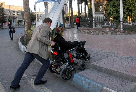 ساخت جاده سلامت معلولان در اصفهان