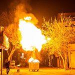 شادی و آرامشی که در آتش چهارشنبه سوری میسوزد